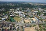 韩国全州大学校园风景