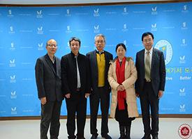北演院领导及招生办赴韩国全州大学考察